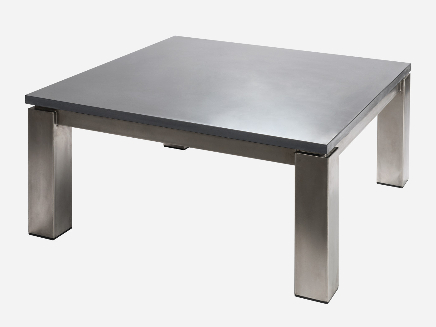 wundersch nen pied table basse inox id es de conception de table basse. Black Bedroom Furniture Sets. Home Design Ideas