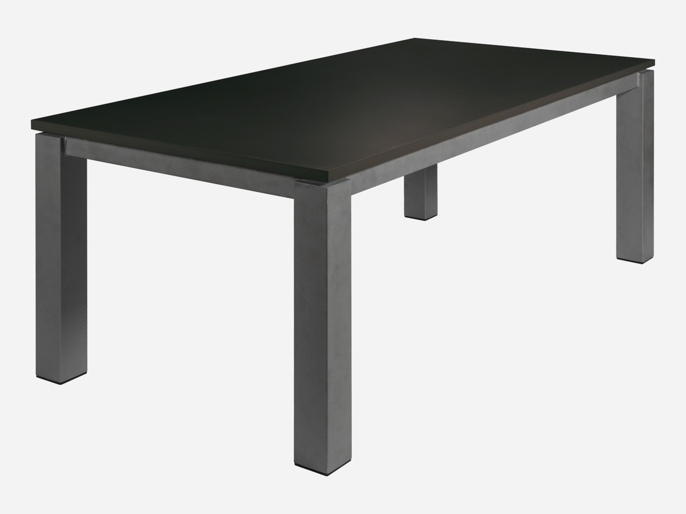 Table de salon salle manger rectangle roc de france for Table salle a manger un pied