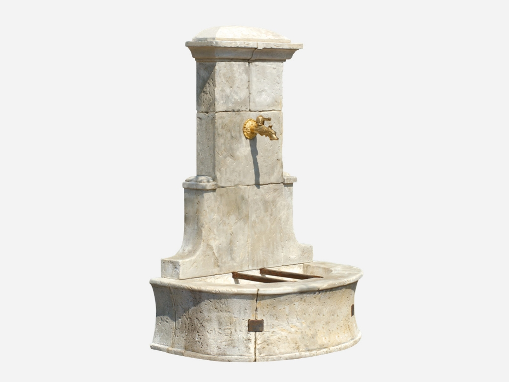 Fontaine de jardin en fonte fashion designs for Fontaine de jardin castorama